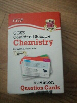 Cgp Gcse Combined Science Chemistry Revision Question Cards