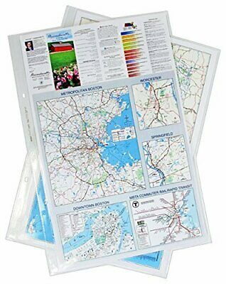 11x17 17 x 11 Inches Poly Sheet Protectors Archivable, Pack of 25, Diamond Cl...