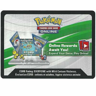 Online Code Card From The Meowth VMAX Special Collection Box Pokemon TCGO Codes