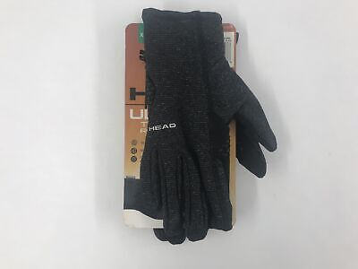 Head Sensatec Women's Ultrafit Touchscreen Running Gloves Heather Grey XL
