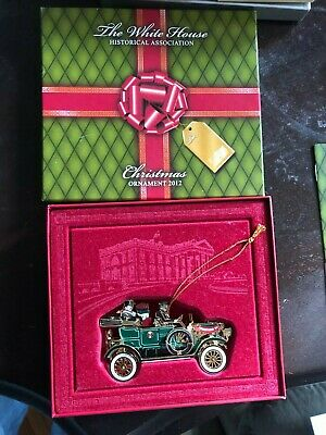 New 2012 White House Historical Association Christmas Ornament