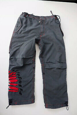 Maharishi Mhi Grey Sno Combats Trousers Age 8 Years  Embroidered