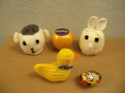 Mrs Tiggy-Winkle inspired Choc cover fits Easter Creme Egg KNITTING PATTERN