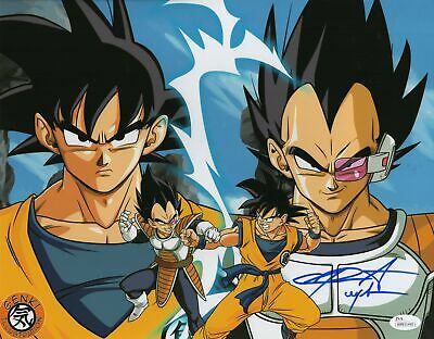 Chris Sabat Autograph 11x14 Dragon Ball Z Vegeta Photo Signed JSA COA 2