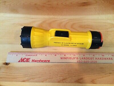 OEM NOS EMD Electro Motive GM General Motors Flashlight