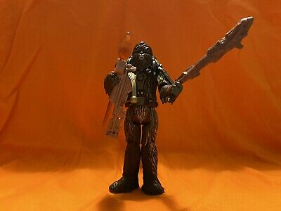 Hasbro Star Wars 2005 ROTS Tarfful Wookie Loose Mint Complete Action figure