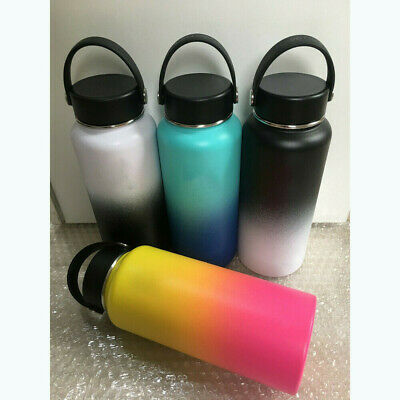 32/40oz Insulated StainlessSteel WideMouth Drink Water Bottle AU