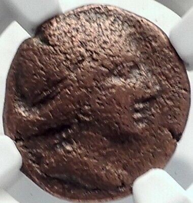 PERGE PAMPHYLIA Authentic Ancient 170BC Greek Coin ARTEMIS NGC Certified i82086
