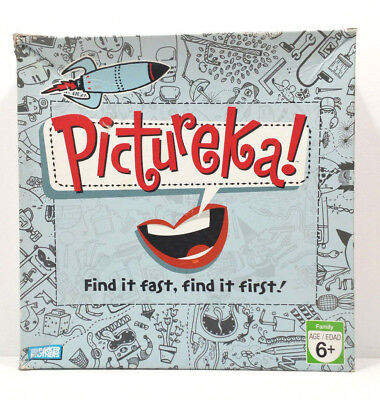 Pictureka Board Game by Parker Brothers Hasbro 2007 Family Fun Age 6 up