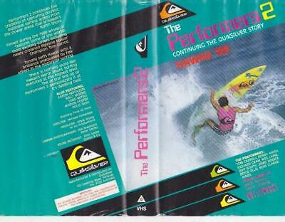 Surfing  The Performers 2   Vhs Video Pal~ A Rare Find