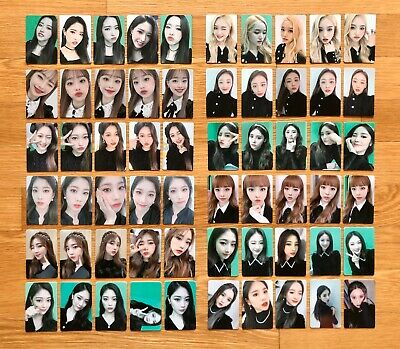 LOONA Premier Greeting MEET&UP Official Photocards 5pcs Set Select Member