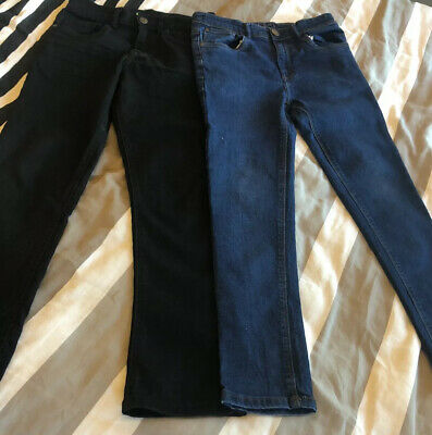 Boys Slim Fit Skinny Jeans Age 11 Years Excellent Condition By Next & Debenhams