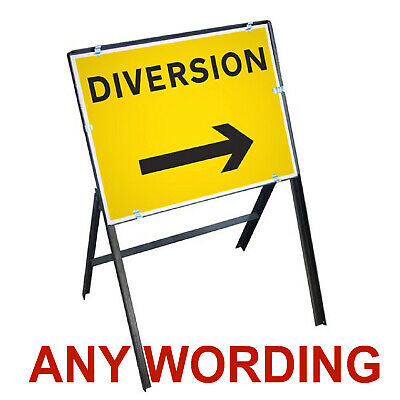Road, Traffic, Highway, Safety Reflective Temporary signs Any wording, Aluminium