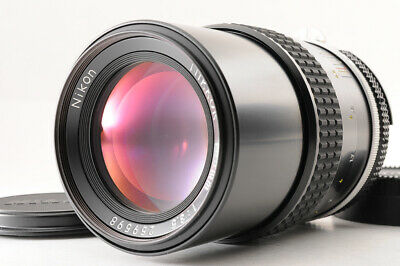 【MINT】NIKON AI NIKKOR 135mm F/3.5 1:3.5 MF Lens + Caps From JAPAN