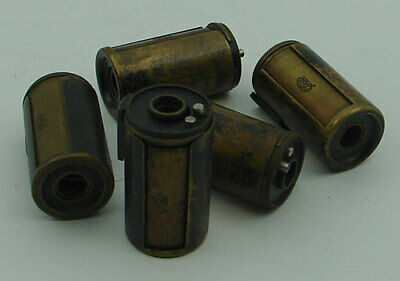 """Original """"FED"""" BRASS CASSETTE with TAKE-UP SPOOL for 35mm format cameras EXC."""