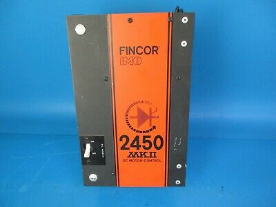 Fincor Mkii 2450 Dc Motor Control 2452100 Input 230V 1 Hp