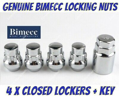 Locking Wheel Nuts 12x1.5 Bolts Tapered for Mazda CX-3 15-16
