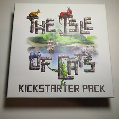 The Isle Of Cats Tabletop Kickstarter Pack Board Game