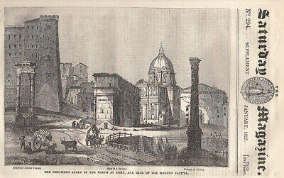 Some Account of The City of Rome: The Great Forum of Ancient Rome, part 3. Issue