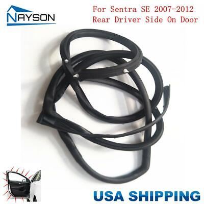 Replacement Door Rubber Seal Weatherstrip RR.L for Nissan SENTRA SE 2007-2012