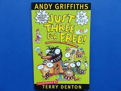## Just Three For Free! - Andy Griffiths & Terry Denton  **Like New