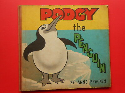 ## Podgy The Penguin - Anne Bracken - Vintage