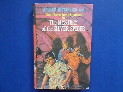 ALFRED HITCHCOCK and THE THREE INVESTIGATORS - THE SECRET of the SILVER SPIDER