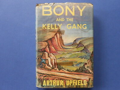 ## Bony And The Kelly Gang - Arthur Upfield - 1St Edition - Hc Dj - 1960