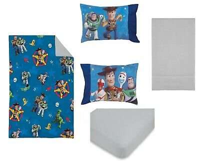 Disney Toy story 4 Piece Toddler Bed set -  See Details