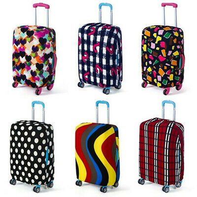 S-XL Travel Luggage Suitcase Elastic Cover Spandex Cover Protector Dustproof-PN