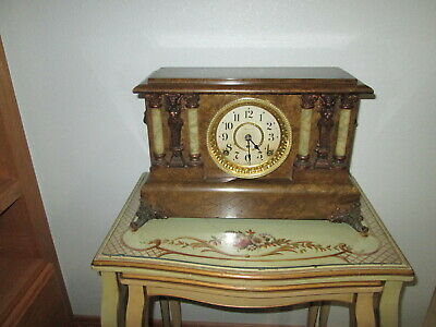 Fully & Properly Restored Seth Thomas Adamantine Mantel Clock