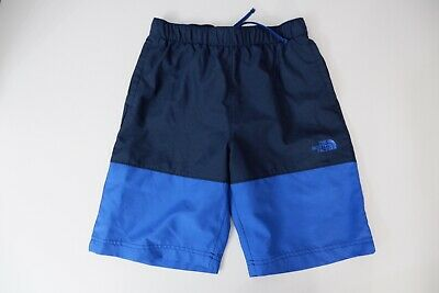 The North Face Blue Shorts Size L Large Boys Vgc