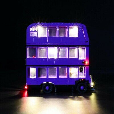 LED Light Up Kit For LEGO 75957 The Knight Bus Lighting Set building kit Bus