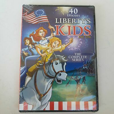Libertys Kids - The Complete Series DVD 40 Episodes 2013