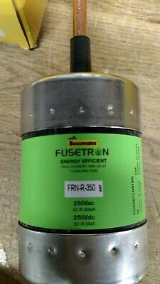 New Bussmann FRN-R-350 350 Amp Fuse Energy Efficient Class RK5 250 Volts NIB