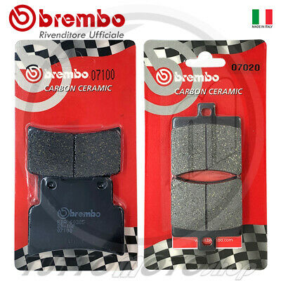 Pastiglie Freno Ant + Post Brembo Aprilia Rs 125 2006 2007 2008 2009