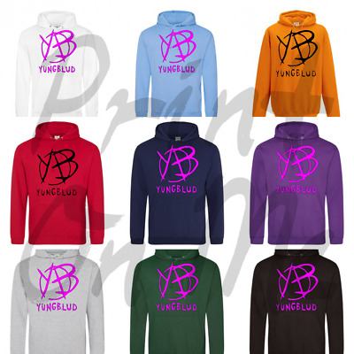 Yungblud Hoodie Kids And Adults Hiphop Rapper Yb Logo Great Presents For Fans