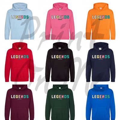 Norris Nuts Legends Inspired Logo Hoodie Kids Various Colours Great Present