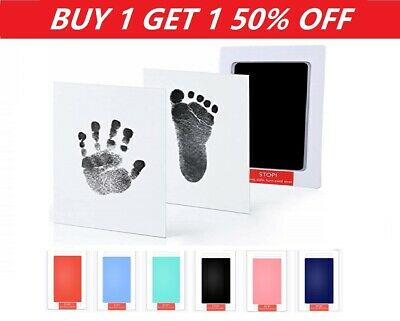 Inkless Wipe Baby Hand Foot Print Kit Keepsake Newborn Footprint Handprint Safe
