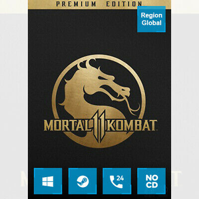 Mortal Kombat 11 Premium Edition for PC Game Steam Key Region Free