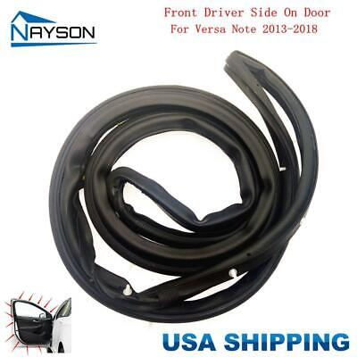 Replacement Door Rubber Seal Weatherstrip Rear Right for Versa Hatchback 07-12