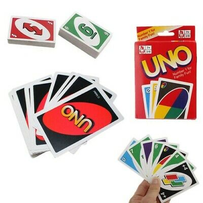 UNO Cards Game 108 cards 2 Deck Per Box, Classic Card Game For Kids AdultUSA