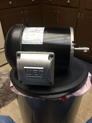 NEW WEG GP Motor,3-Ph,TEFC,3/4 HP,1755 rpm,56, .7518ES3E56-S FREE SHIP