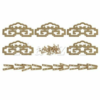 5PCS Old Chinese Style Brass Picture Painting Frame Hanger Hanging Hooks CYJ020