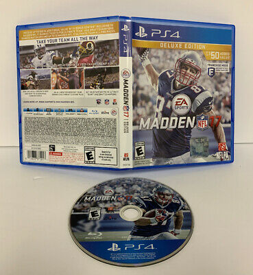 Madden NFL 17 Deluxe Edition (Sony PlayStation 4 PS4, 2016) FAST SHIPPING!