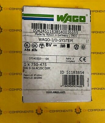 USED TESTED CLEANED 750455 WAGO 750-455
