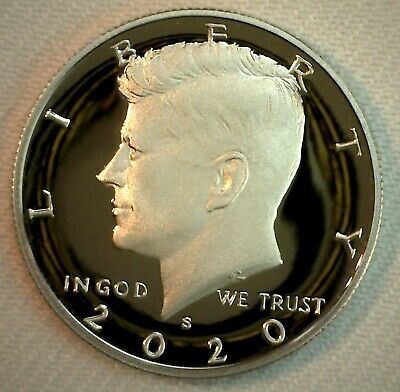 2020 S Clad Proof Kennedy Half Dollar Coin 50 Cent JFK 50c Fifty Cents