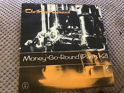 """Style Council - Money go round parts 1 and 2  used 7"""" vinyl record single"""