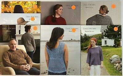 Classic Elite Yarns Knitting Pattern Book 1404 Silhouettes