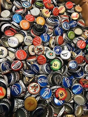 Great Colors NO DENTS Great Mix 500 MIXED **ASSORTED** BEER BOTTLE CAPS